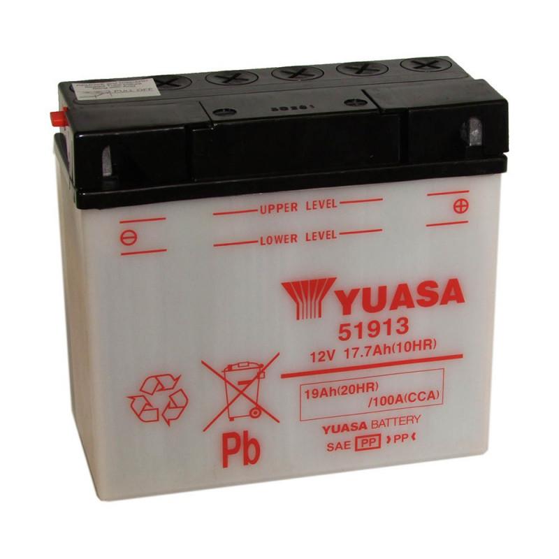 Batterie moto YUASA 51913 12V 19AH 100A