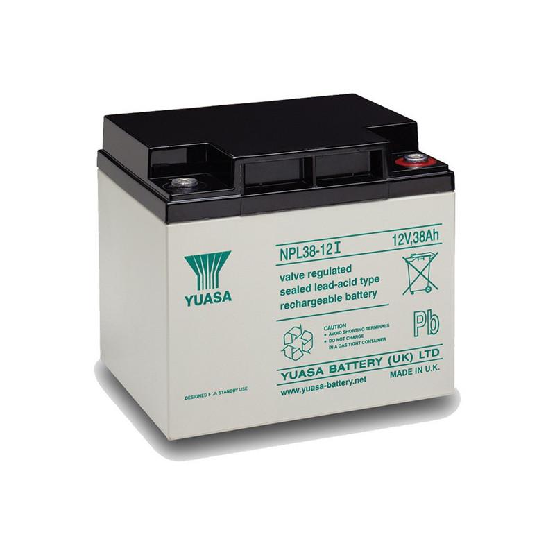 Batterie plomb étanche NPL38-12 Yuasa 12v 38ah