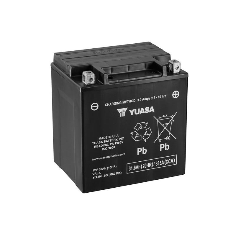 Batterie moto YUASA YIX30L-BS 12V 31.6AH 400A