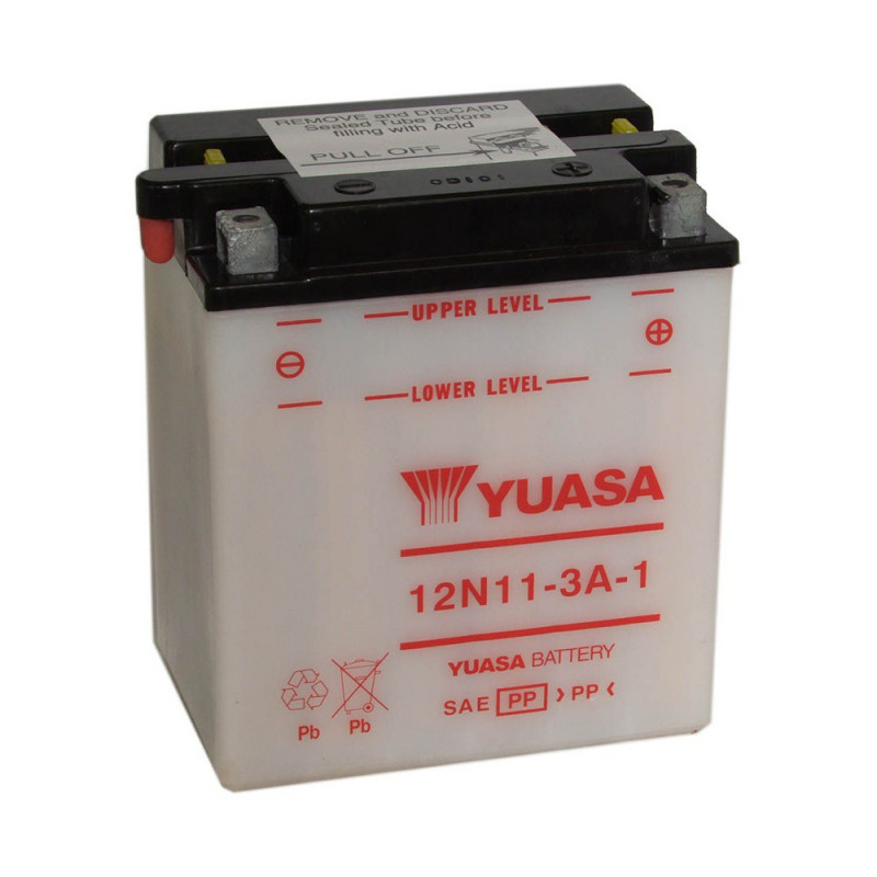 Batterie moto YUASA 12N11-3A-1 12V 11.6AH 109A