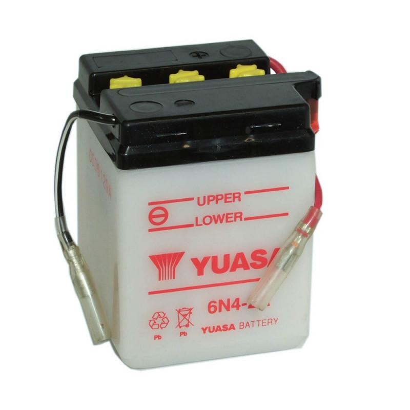 Batterie moto YUASA 6N4-2A 6V 4.2AH