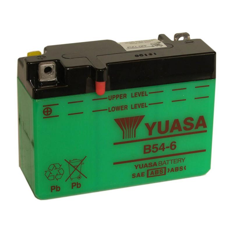 Batterie moto YUASA 6N12A-2C/B54-6 6V 12.6AH