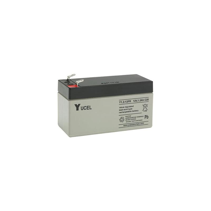 Batterie plomb étanche Y1.2-12FR Yuasa Yucel 12v 1.2ah