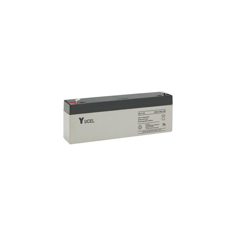 Batterie plomb étanche Y2.1-12 Yuasa Yucel 12v 2.1ah