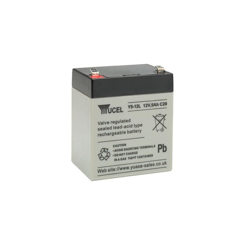 Batterie plomb étanche Y5-12 Yuasa Yucel 12v 5ah