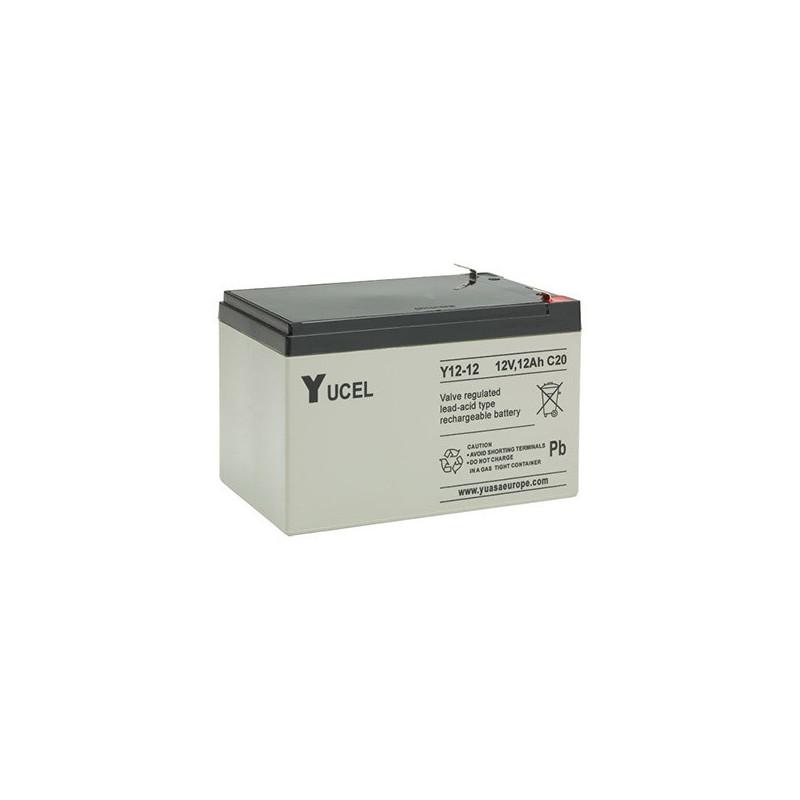 Batterie plomb étanche Y12-12 Yuasa Yucel 12v 12ah