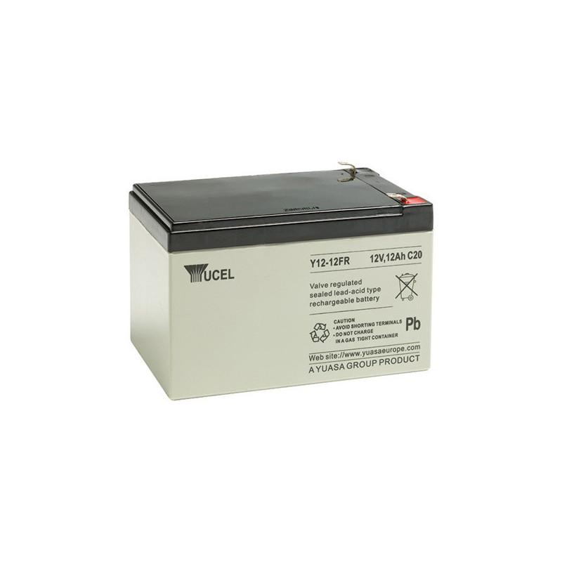 Batterie plomb étanche Y12-12FR Yuasa Yucel 12v 12ah