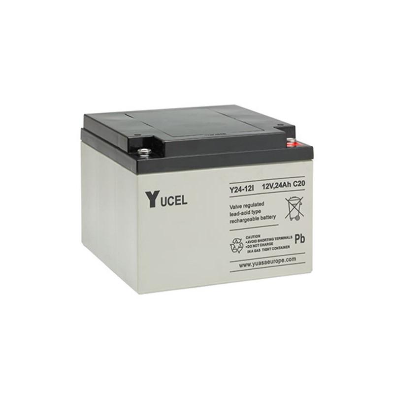 Batterie plomb étanche Y24-12 Yuasa Yucel 12v 24ah